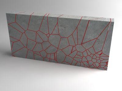 Fracture Voronoi 001