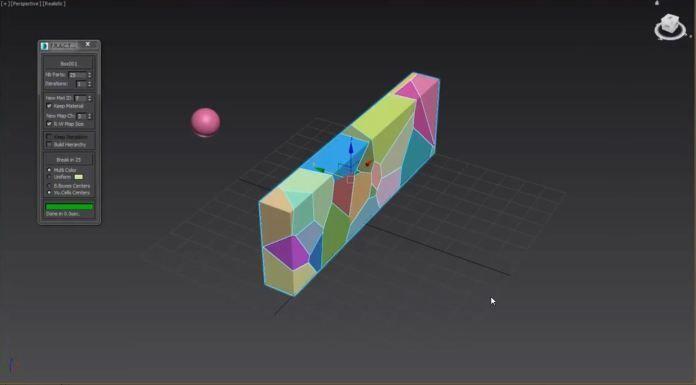 Fracture Voronoi 003